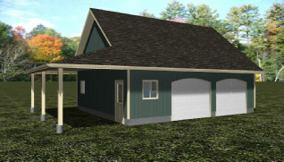 Garage plans for 30 by 30 garage cost